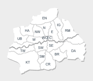 We cover all London areas within M25