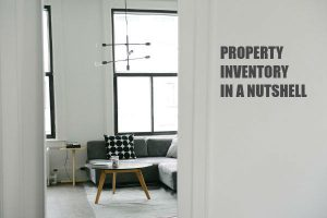 Property Inventory in a Nutshell